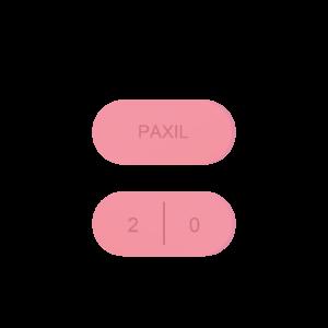 Paxil pill