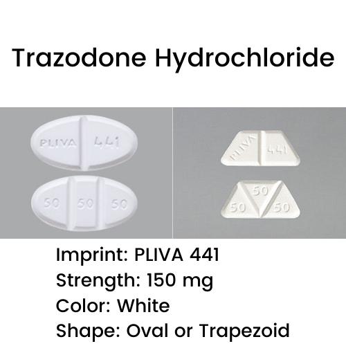 Pliva 441 Pill - Trazodone Hydrochloride