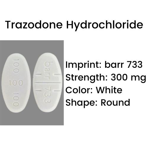 bar 733 Pill - Trazodone Hydrochloride
